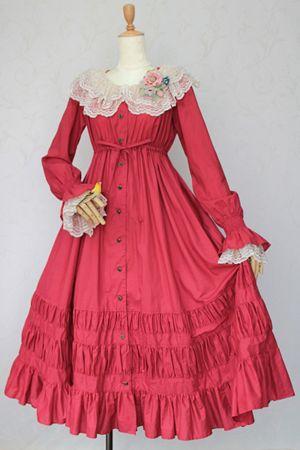 ヴルールロングワンピース Velour Long Dress