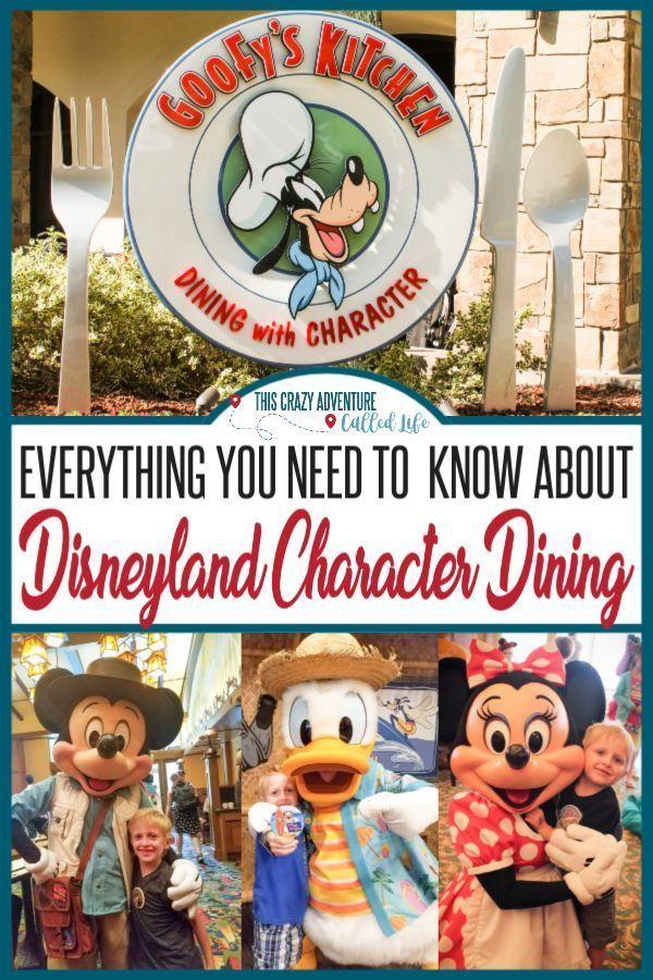 Disneyland Character Dining ist eine großartige Möglichkeit, eine Menge Charaktere zu treffen, …