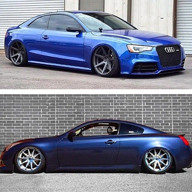 Rohana Wheels Rc7 On The Audi And Rc10 On The Infiniti