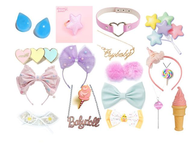 """""""Accessories"""" by infiglo ❤ liked on Polyvore featuring Hot Topic, Rock Rebel, Forever 21, Junk Food Clothing, Simone I. Smith and Unicorn Crafts"""