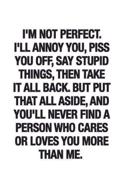 a relationship is not perfect quotes and sayings