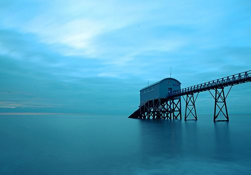 Selsey Lifeboat Station at Dawn