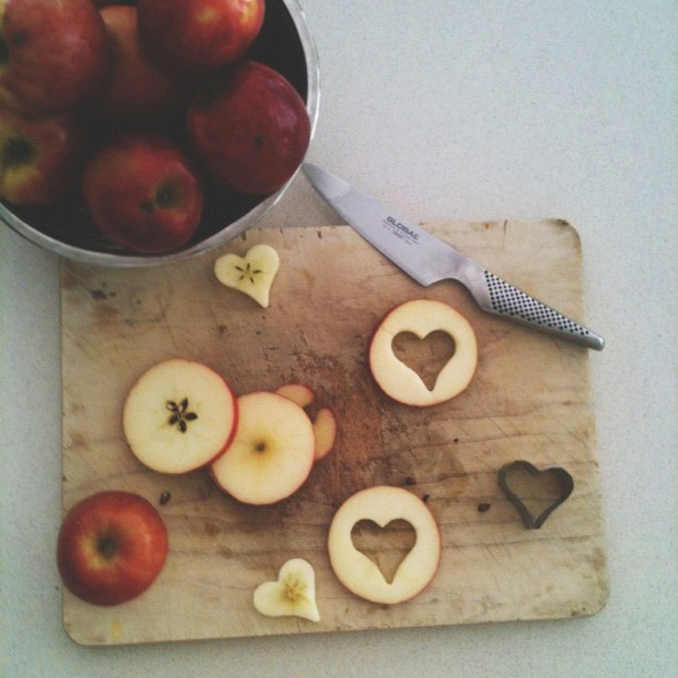 Making snacks like apple slices just that much more fun! - @sesameellis- #webstagram