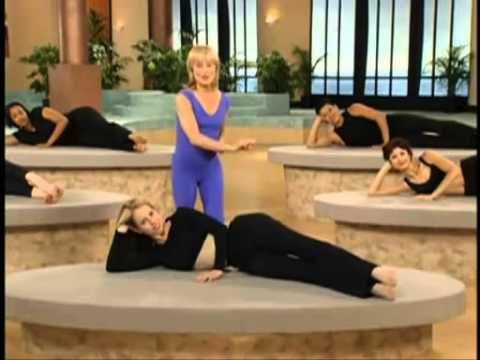 Mari Winsor - Pilates Buns & Thighs: Fire up your bottom and sideline muscles needed to support your back with this video.  All you need is a mat. Enjoy! ~ The Hello Workout Team