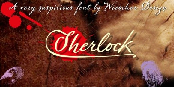 Sherlock Script (50% discount, 23,65€)   https://fontsdiscounts.com/sherlock-script-50-discount-2350e?utm_content=bufferc58ef&utm_medium=social&utm_source=pinterest.com&utm_campaign=buffer