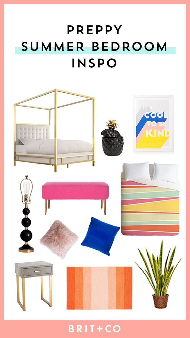 Bookmark these home decor tips to revamp your bedroom to give it a preppy look.