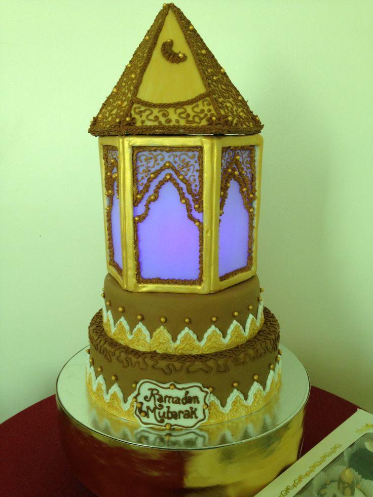 Cake Designs For Ramadan : Ramadan lantern cake Ramadan Pinterest Ramadan ...
