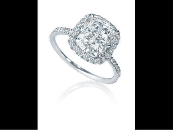 Bague de fiancailles vintage diamant Micropavée Harry Winston - 30 bagues de fiançailles pour tous les goûts - L'EXPRESS