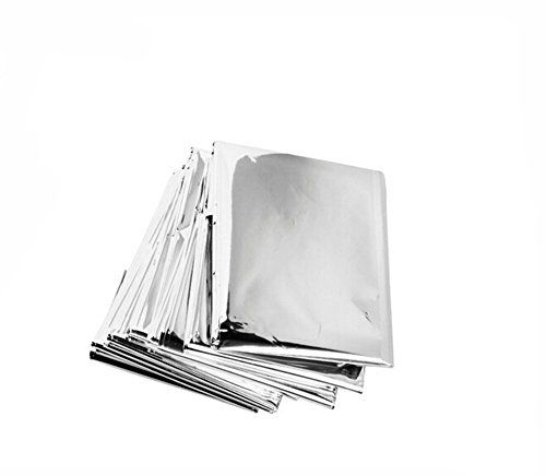 Eforstore Outdoor Emergency Mylar Thermal Blankets  140210cm Pack of 10pcs *** Be sure to check out this awesome product.