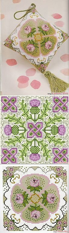Biskornyu. What it is? Few schemes .: Group Blog & quot; needlework Club & quot; - Country Mom
