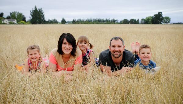 Josh Van Berkel and Family