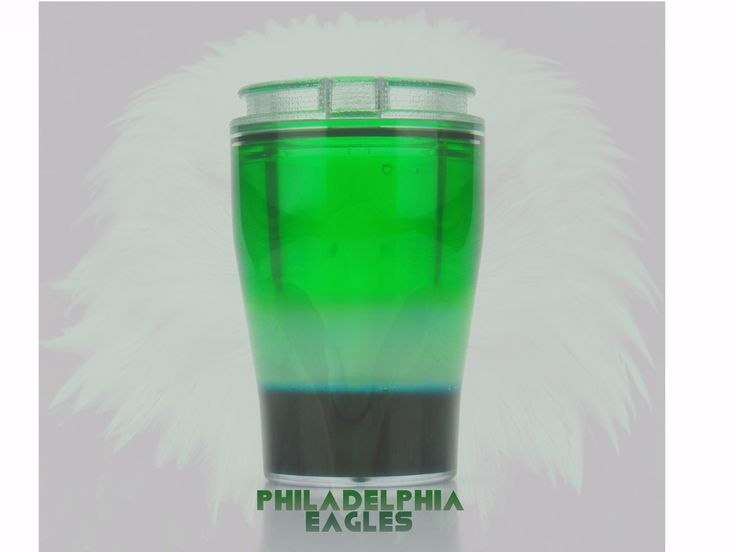Philadelphia Eagles!                                        Shot: Ciroc & Apple Schnapps.                                                    Chaser: Middle layer - Pina Colada mix.  Bottom layer - Kahlua