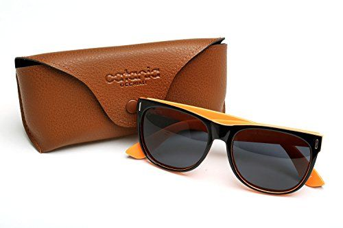 Catania Occhiali ® Polarised Sunglasses - Mens / Womens Wayfarer Style - Polarised Lenses with Case Included (Black Orange) Catania Occhiali http://www.amazon.co.uk/dp/B017BJ2618/ref=cm_sw_r_pi_dp_Id00wb0FK602Z