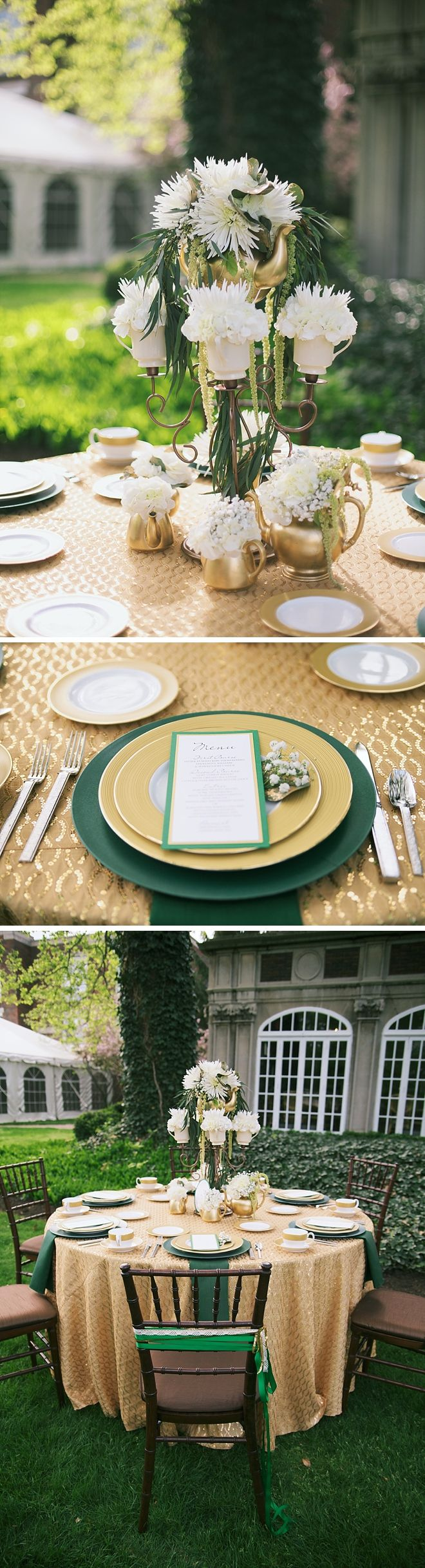 Emerald and Gold Oz-Themed Wedding Inspiration by Lane Baldwin Photography