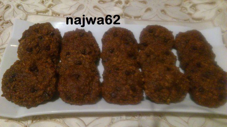 كوكيز صحي بالتمر وزريعة الكتان Food Herbs Cookies