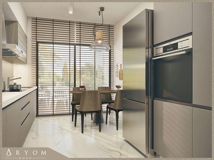Akşam yemeklerinize damak tadı yanında mutfağınızın eşsiz koru manzarası da ayrı bir lezzet katacaktır. Detaylı bilgi için www.aryomkoru.com 'u veya Aryom Koru Tanıtım ve Satış Merkezi'ni ziyaret edebilirsiniz. #Aryom #AryomKoru