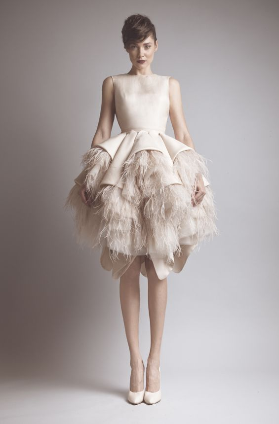 Gorgeous Khaki Tiered Feathers Sleeveless Evening Dresses Prom Party Gown Custom