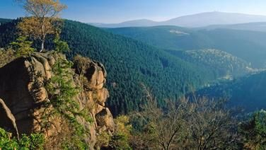 Rabenklippe, Bad Harzburg, Harz: Hiking in Germany