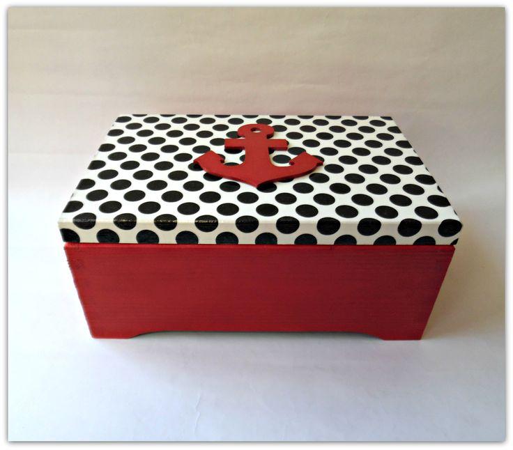 Kuferek - Więcej na mojej stronie na fb - Decoupage Gallery