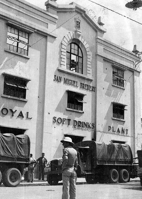 San Miguel Brewery - Manila 1945