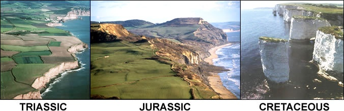 Jurassic Coast, England, fossielen zoeken!