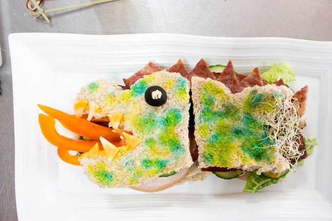 This Dragon sandwich will heat up any lunch! #FamilyFirst #NaturallyfromtheFarm