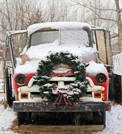 festive truck