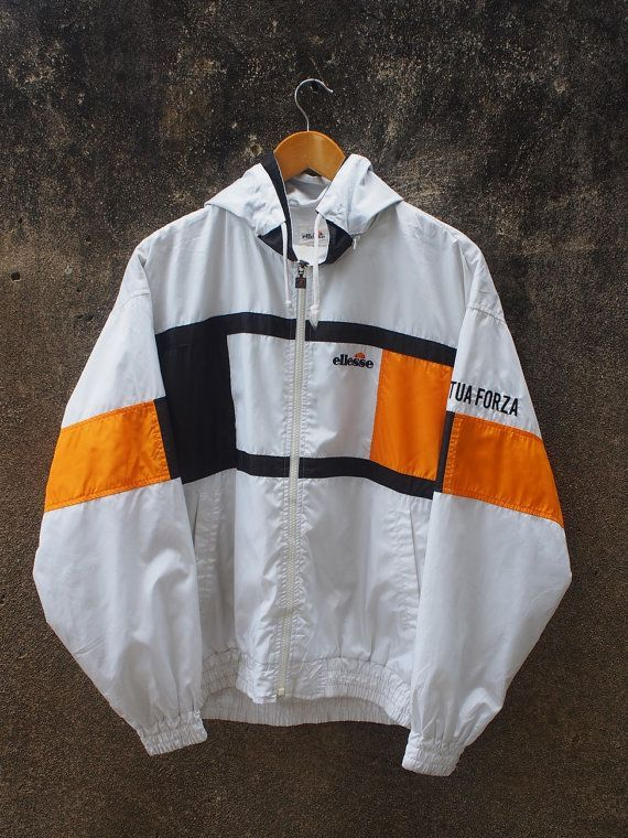 ELLESSE Jacket Large Vintage 90's von REPEATFASHIONSTORE