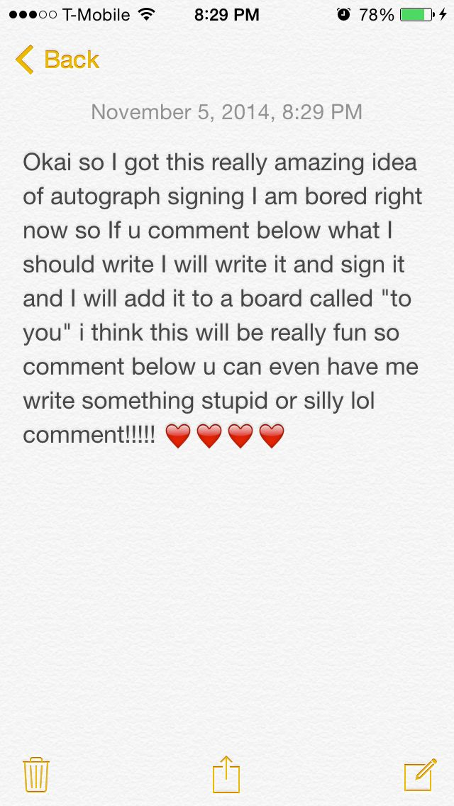 IM BORED SO LETS DO AUTOGRAPH SIGNING IF U GET TAGGED TAG ONE OTHER PERSON TO THIS PIC TO POST A RANDOM MESSAGE FOR ME TO WRITE OUT AND SIGN XD
