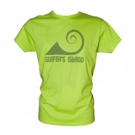 T-shirt Surfer Sardegna Uomo pistacchio