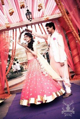 #mehendi #lehenga #bride #wedmegood