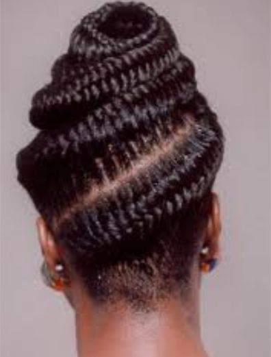 Follow me for more beautiful braids! Goddess African Hair Braiding Styles