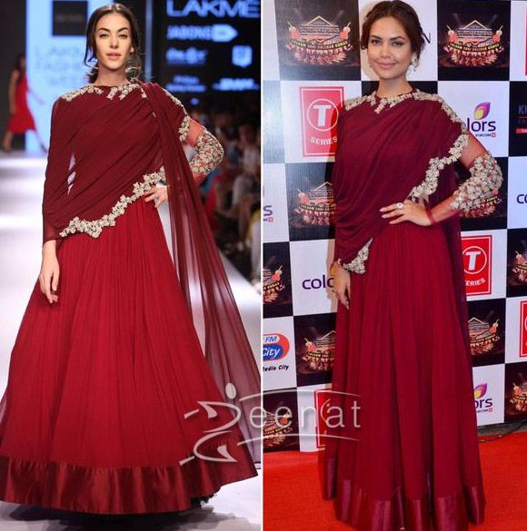Esha Gupta In Ridhi Mehra At Suron ke Rang3