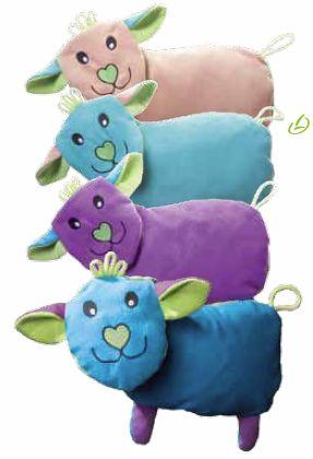 Zirbenflocken-Schaf für Groß und Klein - unterstützen einen tieferen Schlaf, besonders in der ersten Phase.