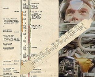 In-flight instructions used by first American in orbit John Glenn heads to auction | collectSPACE