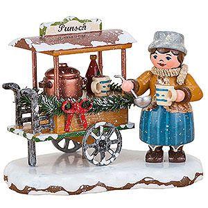 Winterkinder Punschwagen (8cm) von Hubrig Volkskunst