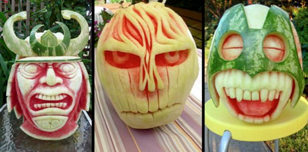 Best watermelons for halloween images on pinterest