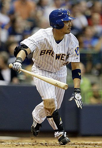 Norichika Aoki (Milwaukee Brewers)