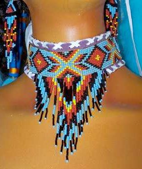 Native American Beadwork Designs or Patterns