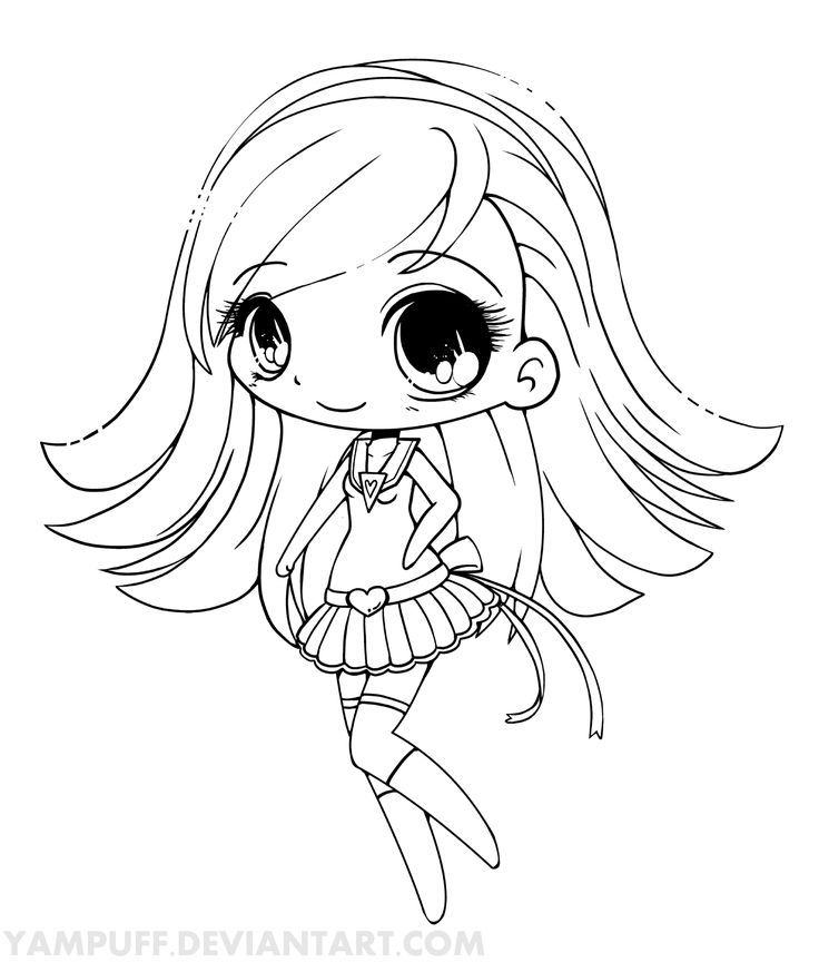 24 best Chibi images on Pinterest | Dibujos animados, Chicas anime y ...