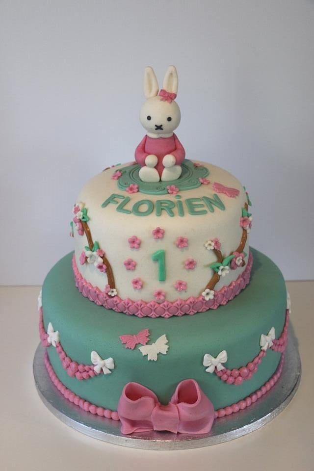 Miffy / Nijntje cake By Wendy's Taartenatelier