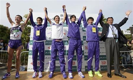 2012全日本大学生駅伝