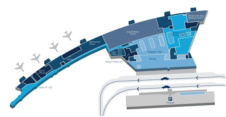 Interactive Map   Winnipeg James Armstrong Richardson International Airport