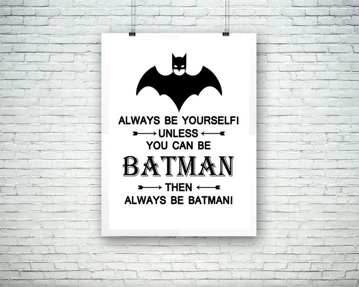 Wall Art Batman Digital Print Batman Poster Art Batman Wall Art Print Batman Kids Art Batman Kids Print Batman Wall Decor Batman - Digital Download wall art wall art prints digital download wall art wall art printables