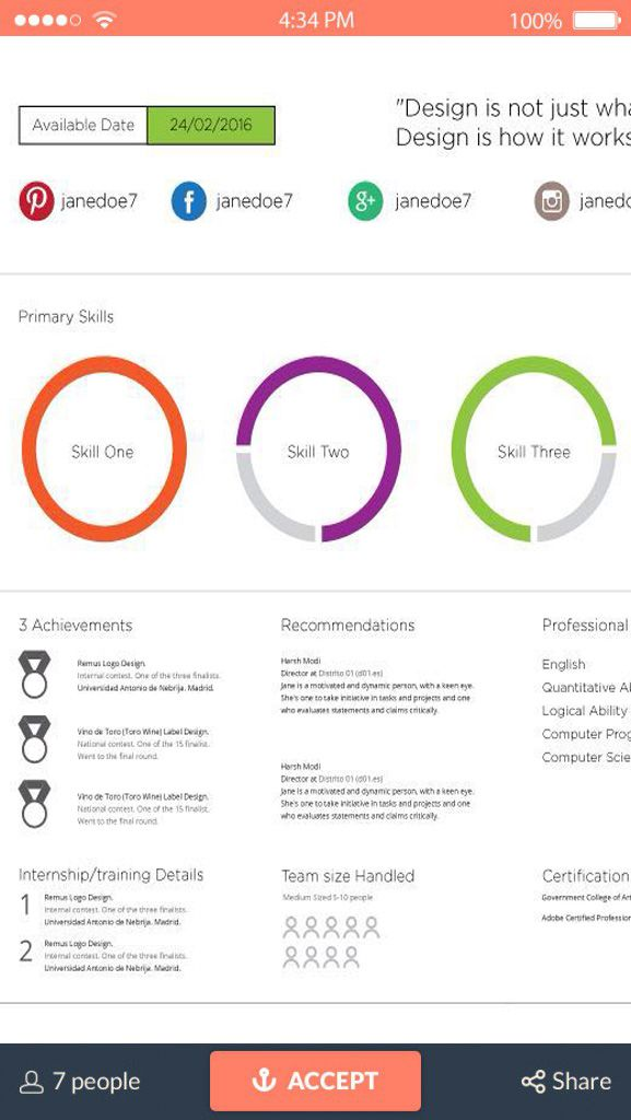 High Quality 10 Online Tools To Create Impressive Resumes Hongkiat