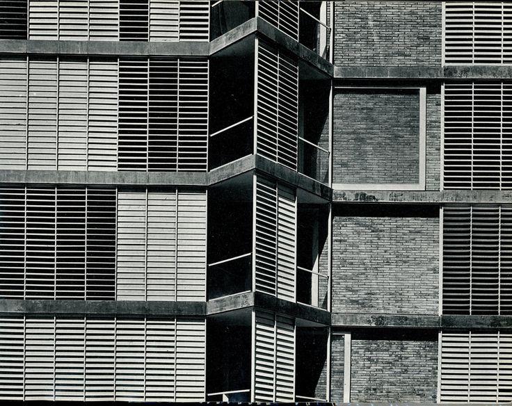 josé antonio coderch arquitecte / edificio de viviendas en carrer de j.s. bach, barcelona