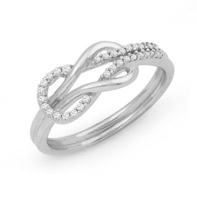 Titanium infinity Wedding Rings for Women