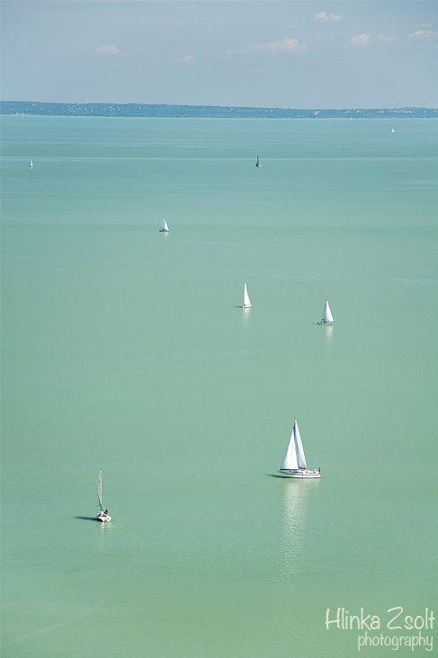 Balaton - Balatoni vitorlások (Sailing boats on Lake Balaton) - Hlinka Zsolt Phorography
