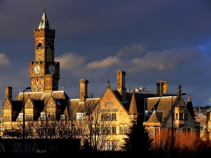 #Bradford City Hall, West #Yorkshire, #England