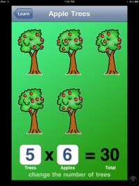 Great app for multiplication, not just quizzing but teaching the concepts!